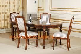 Crate And Barrel Pullman Dining Room Chairs by Set Kursi Makan Klasik Jati Terbaru 2017 Atau Set Meja Makan
