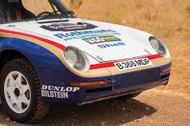 Paris-Dakar Porsche 959 Rally Car Is Headed To Auction For $3 ...