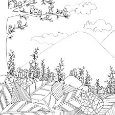 5 41 Totoro Coloring Book Nazlyme