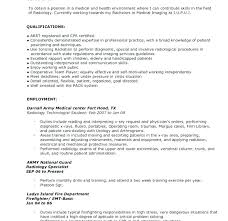 X Ray Technician Resume Templates Tech Entry Level Technologist Sample Template Objective