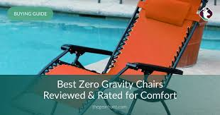 10 Best Zero Gravity Chairs Reviewed In 2018
