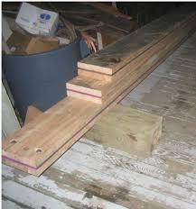 Sistering Floor Joists To Increase Span by Sister A Joist With Steel Terry Love Plumbing U0026 Remodel Diy