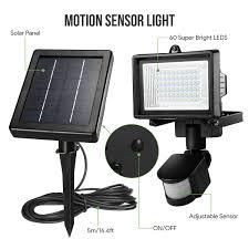 Daylight White 10W Floodlight With Light Sensor And Passive Sensor