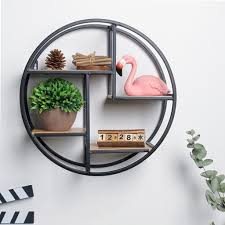 schwarz rund wandboard wandregal bücherregal hängeregal abalge für wohnzimmer bad küche