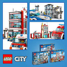 LEGO City 60110 60141 60204: Fire Stataion Police Station And ...