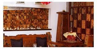 3d subway pattern ancient boat wood mosaic tiles wall