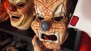 Slipknot Halloween Masks 2015 by Shawn Crahan Iowa Clown Mask Youtube