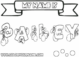 Amazing Printable Name Coloring Pages 40 In For Adults With