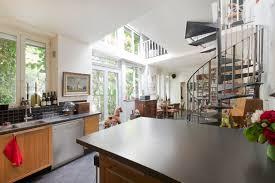 cuisine ouverte sur s駛our faubourg st antoine 11ème maison de 110m sur cour privée