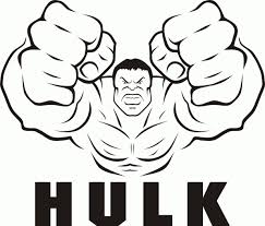 Adult Cartoon Printable Marvel Coloring Pages Hulk Toneincredible Page