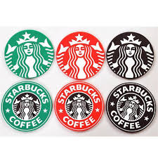 2018 Starbucks Logo Mermaid Silicone Coaster Round Platemat Mugs Coffee Cup Mat Pad Black Red Green Table Decoration From Aaa Factory 15679