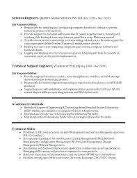 Customer Service Manager Resume It Management With Regard To