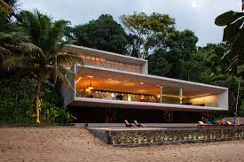 104 Beach Houses Architecture Modern House On The Brazilian Coast Idesignarch Interior Design Interior Decorating Emagazine
