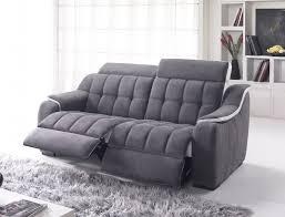 but canapé 2 places canapé cuir relax electrique 3 places but canapé idées de
