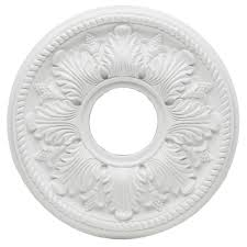 westinghouse bellezza 14 in white ceiling medallion 7775000 the