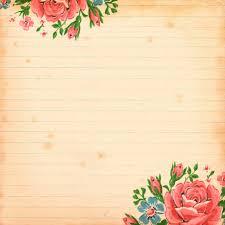 Free Vintage Floral Digital Scrapbooking Paper By FPTFY 7