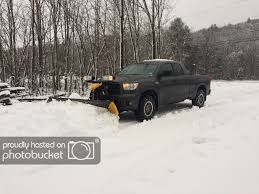 100 Best Plow Truck Snow On The CrewMax TundraTalknet Toyota Tundra Discussion