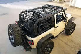 Jeep Jk Rugged Ridge Floor Liners by Rugged Ridge 13552 70 Cargo Net Black 07 16 Jeep Wrangler Jk