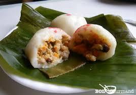 cuisine asiatique vapeur gâteau de riz salé vapeur bánh ít trần recette asiatique