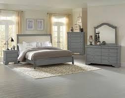 french market upholstered bedroom set zinc vaughan bassett