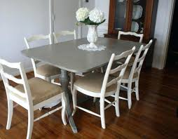 Painting A Kitchen Table With Chalk Paint Refurbished Kitchen