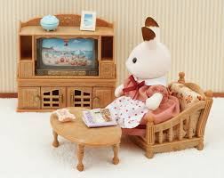 comfy living room set sylvanian families