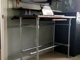 Metal Stand Up Desk Best 25 Standing Desks Ideas On Pinterest Diy 12