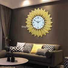 große uhr schmiedeeisen kreative uhr europäischen wohnzimmer metall wanduhr mode dekoration quarzuhr