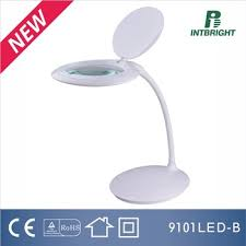 Desktop Magnifying Lamp Canada by Rechargeable Table Magnifier Lamp Industrial Magnifying Glass Lamp
