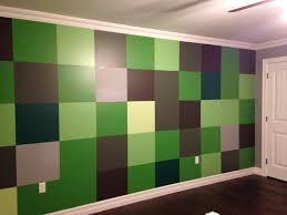 Minecraft Bedroom Wallpaper Decorative Design Theme