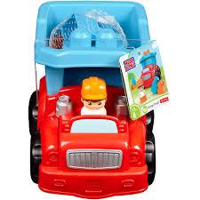 Mega Bloks - Dump Truck Building Set - Mattel - Toys