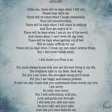 Apologize Poems