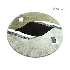 badematte halbrund gemustert bad vorleger matte 50 x 80 cm