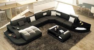 canape d angle alcantara deco in 8 canape d angle design panoramique noir et blanc