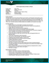 Front Desk Agent Jobs Edmonton by Understanding A Generally Accepted Auditor Resume