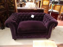 canapé chesterfield tissus chesterfield tissu violet 2 places ppi jpg