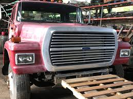 USED FORD LTL HOOD FOR SALE #1656