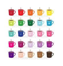 Coffee Mugs Clipart Heart Cups Tea Cup