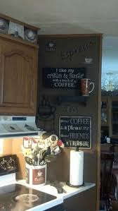 Coffee Themed Kitchen Pictures Or Signs On A Small Wall Like This