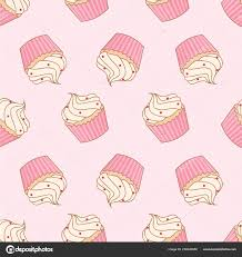 Usage Information Vector Image Cupcake On Pink Background