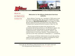 Wilson Dedicated Services Competitors, Revenue And Employees - Owler ... Trucking Business Facing Lower Rates Fewer Drivers And Tougher Wilsons Truck Lines Food Distribution Ontario Outsource Peterbilt 579 With Midroof Sleeper During A Flickr Central Oregon Company Home Facebook Barnes Transportation Services Wilson Nc Rays Photos Truck Trailer Transport Express Freight Logistic Diesel Mack News Food Dicated Truck Specialists Volvo Trucks Presents 5000th Assembled In United States