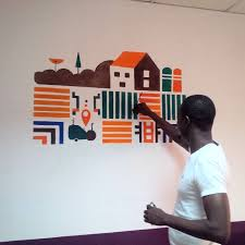 Wall Art Desing Uinsurance Office Artu With