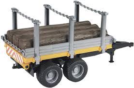 100 Bruder Logging Truck 02213 Timber Trailer With Trunks Farm Toys Online