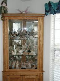 oak corner curio cabinet with lights by mbs lumberjocks