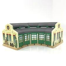 Tidmouth Sheds Wooden Roundhouse by Thomas The Tank Engine Toys And Accessories In Character Family