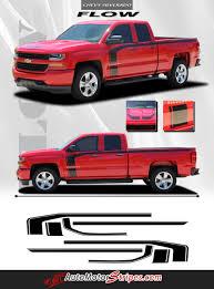 100 Chevy Silverado Toy Truck 20162018 Door Stripes Flow Special Edition