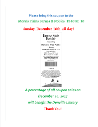 BOOK FAIR At Barnes & Noble! – Denville Public Library Lowes Coupon Code 2016 Spotify Free Printable Macys Coupons Online Barnes Noble Book Fair The Literacy Center Free Can Of Cat Food At Petsmart Via App Michael Car Wash Voucher Amazoncom Nook Glowlight Plus Ereader In Store Coupon Codes Dunkin Donuts Codes For Target Rock And Roll Marathon App French Toast School Uniforms Goodshop Noble Membership Buffalo Wagon Albany Ny Lord Taylor April 2015