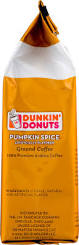 Dunkin Donuts Pumpkin K Cups by Dunkin U0027 Donuts Pumpkin Spice Ground Coffee 11 Oz Walmart Com