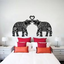 wall decals indian elephant floral from amazon wall decals