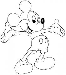 Coloring Pages Mickey Mouse Page Pictures To Color Thecoloringpage Pic Animal